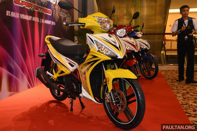 SYM Sport Rider 125i mẫu xe côn tay mới ra mắt tại Malaysia 3