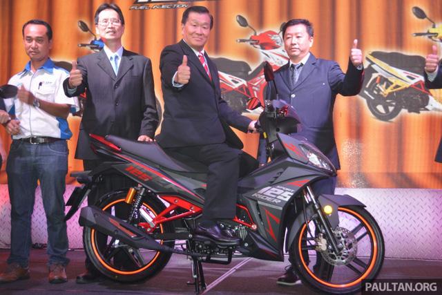 SYM Sport Rider 125i mẫu xe côn tay mới ra mắt tại Malaysia 2
