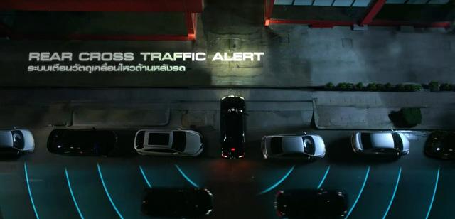 Hệ thống cảnh báo giao thông phía sau