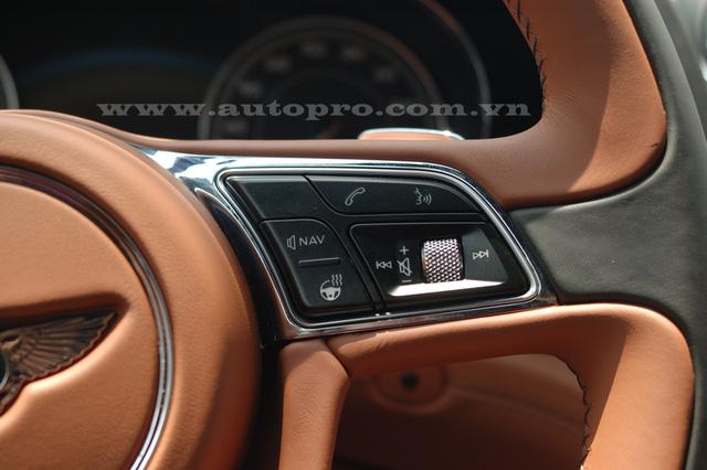 CSoi chi tiết nội thất Bentley Bentayga mẫu SUV hạng sang giá 23 tỷ tại Việt Nam 6