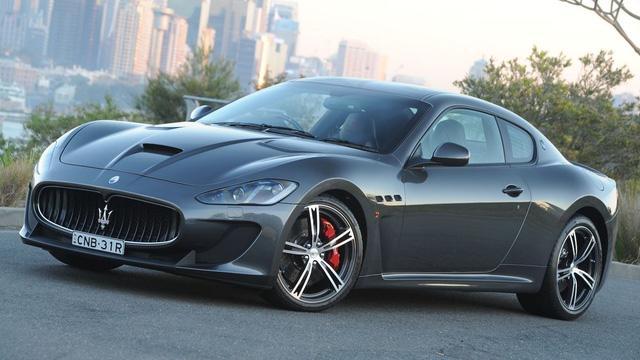 Maserati GranTurismo, một chiếc Grand Touring tiêu biểu.