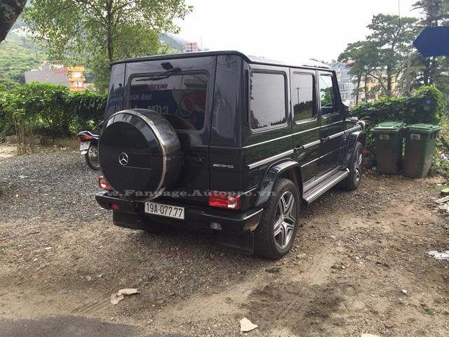 Cũng mang biển kiểm soát tứ quý 7 là chiếc Mercedes-Benz G63 AMG có hộ khẩu tại Phú Thọ.