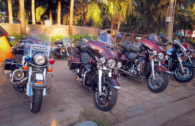 Dàn chiến binh của Harley-Davidson.