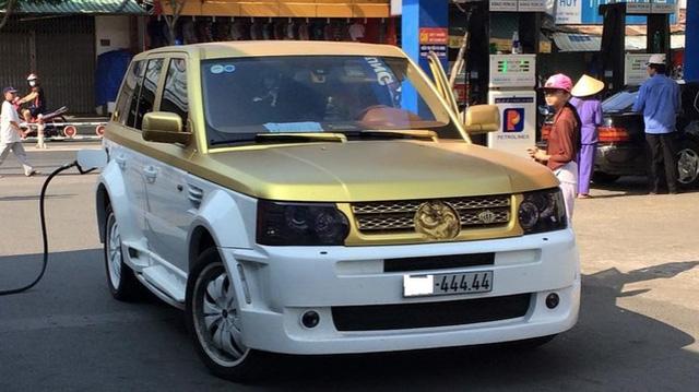 Xuất hiện bộ mâm (la-zăng) rồng Range Rover gây xôn xao dân mê độ xê 6