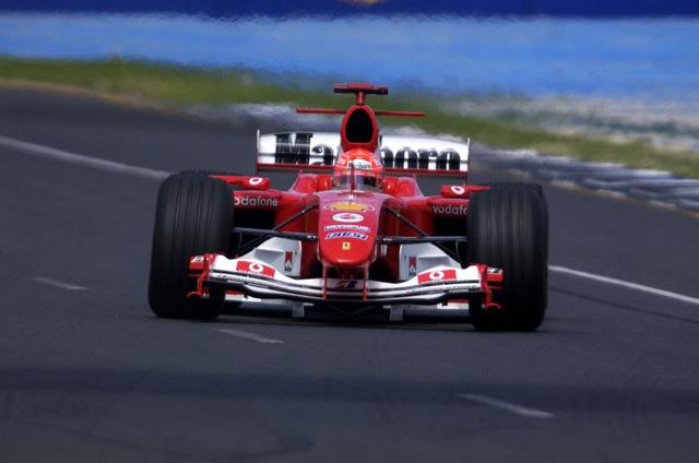 Ferrari F2004 là một trong những mẫu xe thành công nhất trong lịch sử của giải đua F1. Xe từng được lái bởi tay đua Michael Schumacher và vô địch năm 2004.