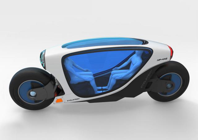 Mẫu xe máy tự lái và tự cân bằng sắp được ra mắt thị trường 2