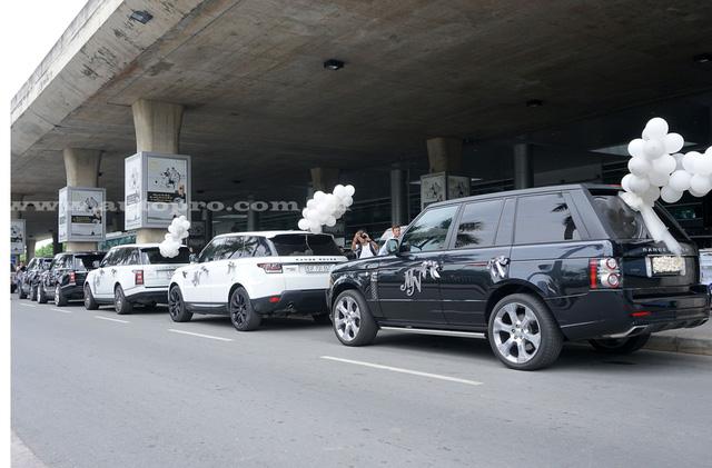 """Thiêu gia Minh """"Nhựa"""" đón vợ ở sân bay bằng loạt siêu xe đình đám 5"""