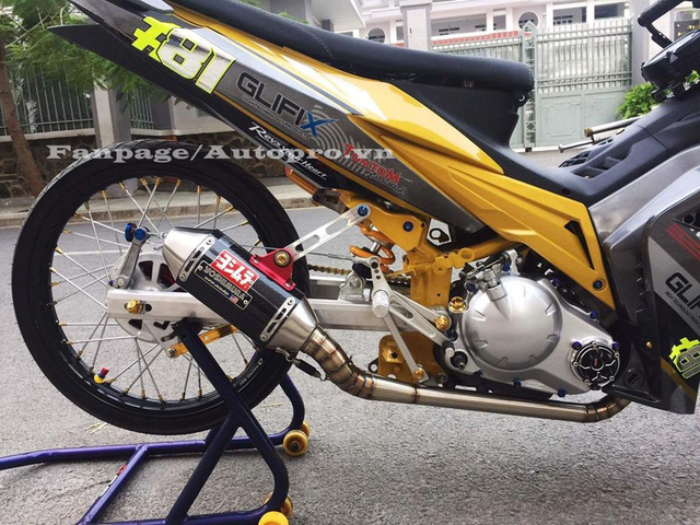 Ngắm Yamaha Exciter 135 độ hàng hiệu có trị giá 50 triệu của biker Gia Lai 8