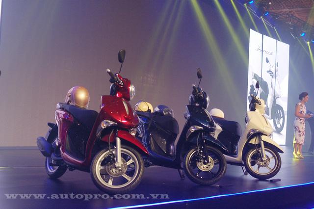 Yamaha cho biết Janus được thiết kế dựa trên cảm hứng từ các mẫu xe ga Châu Âu.