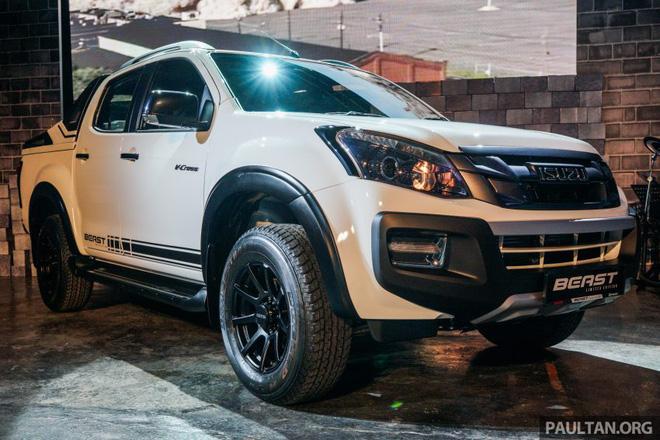 Cách đây vài hôm, hãng Isuzu đã chính thức trình làng phiên bản giới hạn số lượng mới của dòng xe bán tải D-Max mang tên Beast tại thị trường Malaysia. Theo hãng Isuzu, chỉ có đúng 360 chiếc D-Max Beast được sản xuất với thiết kế hầm hố và rắn rỏi hơn hẳn.