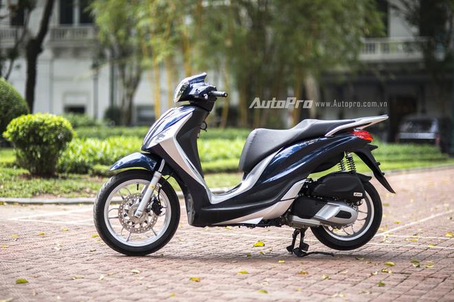 Piaggio Medley ABS có nhiều điểm khác biệt với Honda SH.