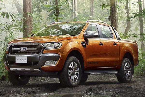 Doanh số bán xe Ford Ranger  top 1 xe bán chạy nhất tháng 4