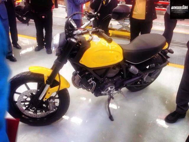 Ducati Scrambler trước khi hoàn thiện để đưa ra thị trường.