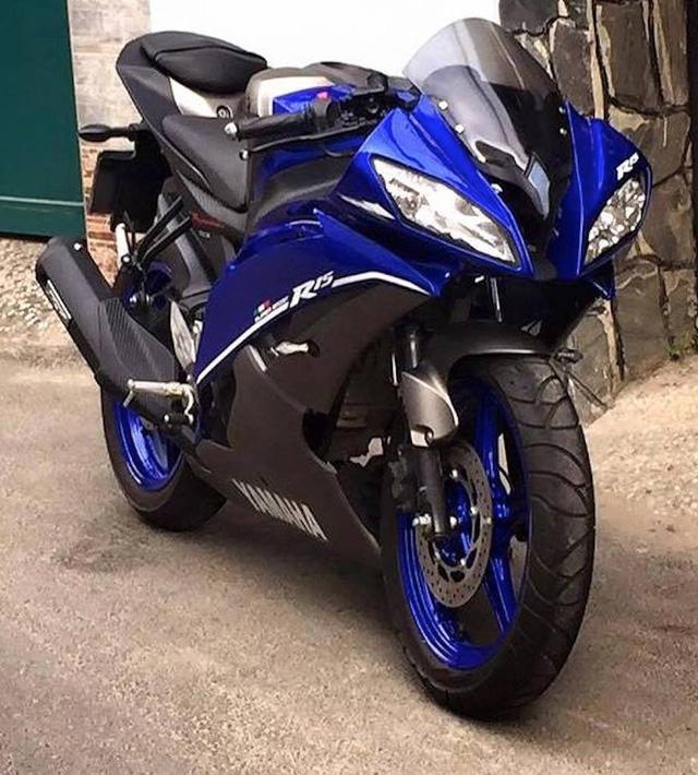 Xe C 244 N Tay Yamaha R15 độ Vỏ R6 Của Việt Nam L 234 N B 225 O Nước Ngo 224 I