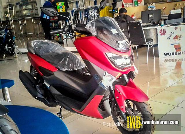 Bắt gặp xe ga Yamaha NM-X 155 2017 với màu sơn nhám mới - Ảnh 1.