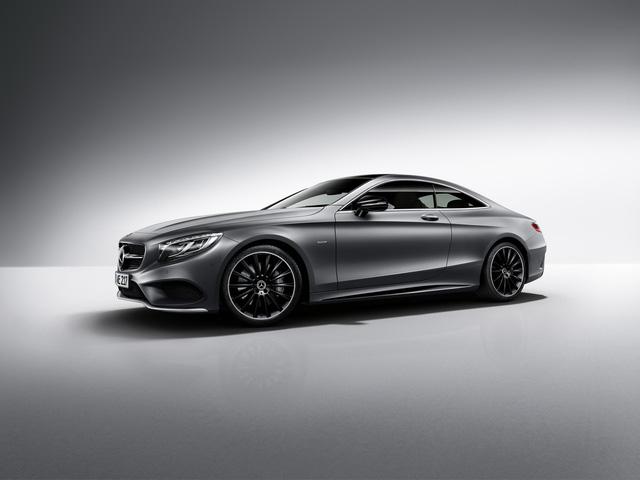 Mercedes-Benz bổ sung phiên bản bóng đêm cho S-Class Coupe - Ảnh 1.