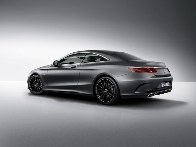 Mercedes-Benz bổ sung phiên bản bóng đêm cho S-Class Coupe - Ảnh 4.
