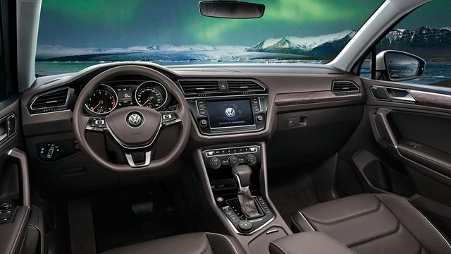 SUV 7 chỗ Volkswagen Tiguan Allspace bất ngờ lộ diện sớm - Ảnh 3.