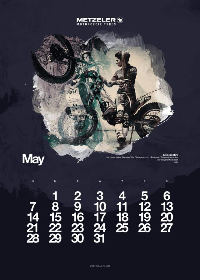 Bộ ảnh lịch 2017 hội tụ 12 nữ biker nổi tiếng thế giới - Ảnh 5.
