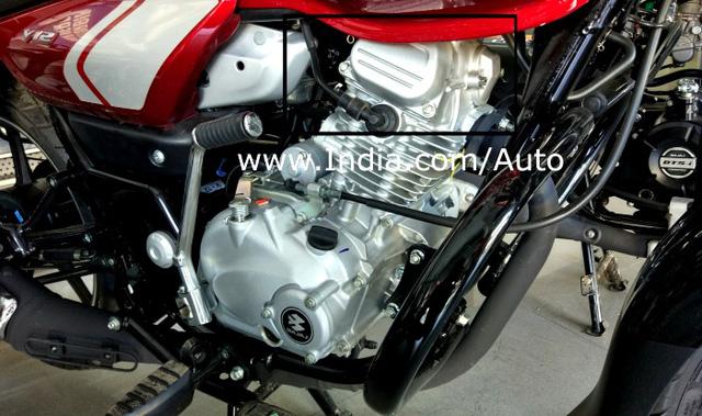 Mô tô 125 phân khối rẻ như cho Bajaj V12 xuất hiện tại đại lý - Ảnh 3.