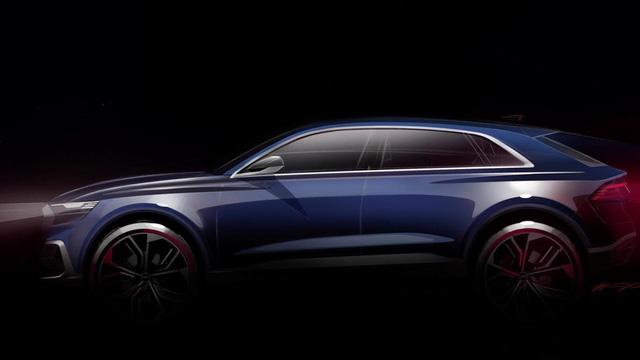 Audi Q8 E-tron, đối thủ của BMW X6, được hé lộ chân dung - Ảnh 2.