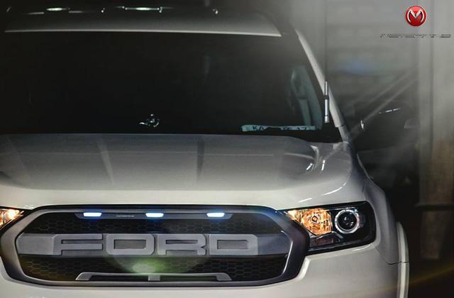 Ford Everest thế hệ mới độ theo phong cách khủng long F150 Raptor - Ảnh 2.