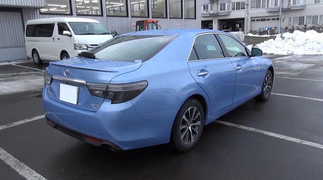 Cận cảnh sedan cỡ trung Toyota Mark X 2017 cao cấp hơn Camry ngoài đời thực - Ảnh 3.