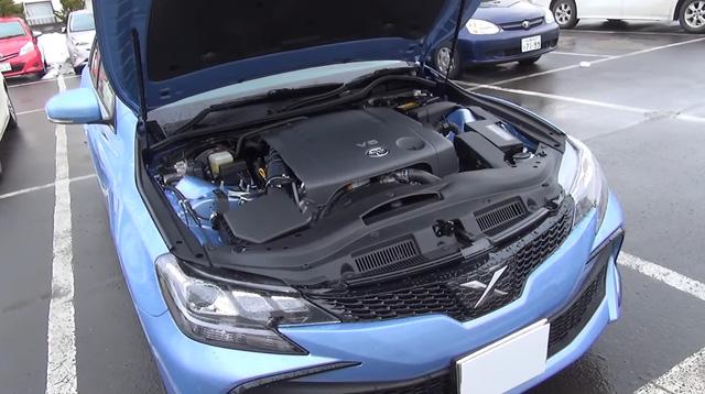 Cận cảnh sedan cỡ trung Toyota Mark X 2017 cao cấp hơn Camry ngoài đời thực - Ảnh 5.