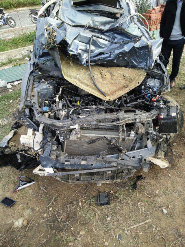 Quảng Ninh: Mazda CX-5 lật nhiều vòng trong đêm, 5 người thương vong - Ảnh 4.