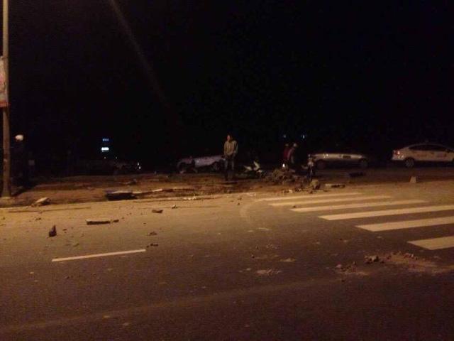 Quảng Ninh: Mazda CX-5 lật nhiều vòng trong đêm, 5 người thương vong - Ảnh 2.