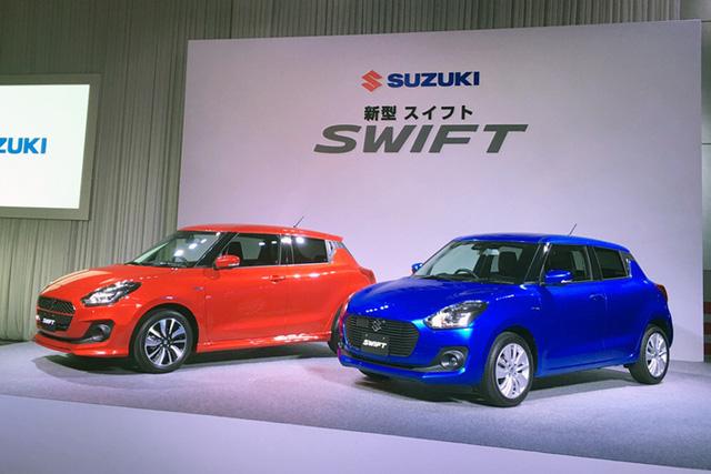 Ngắm bé hạt tiêu Suzuki Swift 2018 mới ra mắt ngoài đời thực - Ảnh 1.