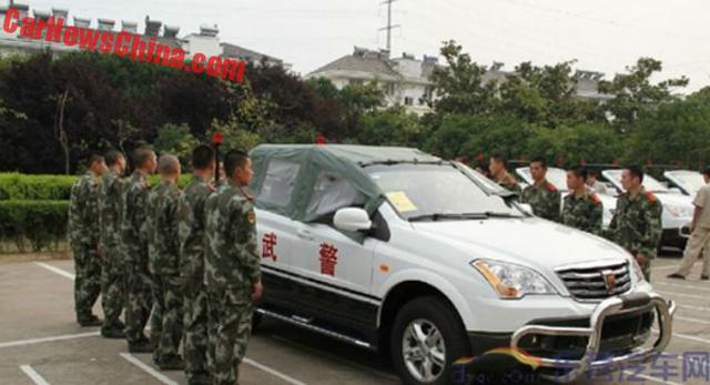 Xe tuần tra mui trần chuyên dụng của lực lượng cảnh sát Trung Quốc - Ảnh 7.