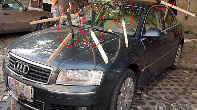 Xem xong loạt ảnh này chắc chắn các tài xế sẽ không dám đỗ xe linh tinh nữa