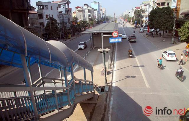 Mục sở thị tuyến buýt nhanh Hà Nội sắp vận hành - Ảnh 14.
