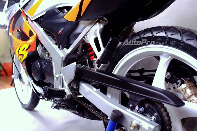 Biker Hà Thành chi 230 triệu để hồi sinh xe hai kỳ Honda LS 125R nguyên bản - Ảnh 15.