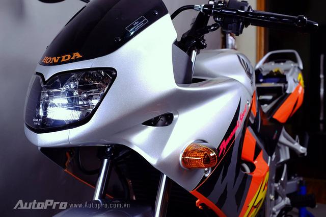 Biker Hà Thành chi 230 triệu để hồi sinh xe hai kỳ Honda LS 125R nguyên bản - Ảnh 4.