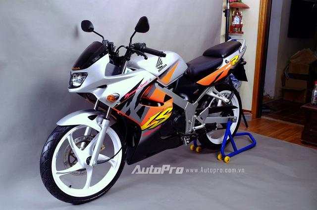 Biker Hà Thành chi 230 triệu để hồi sinh xe hai kỳ Honda LS 125R nguyên bản - Ảnh 3.