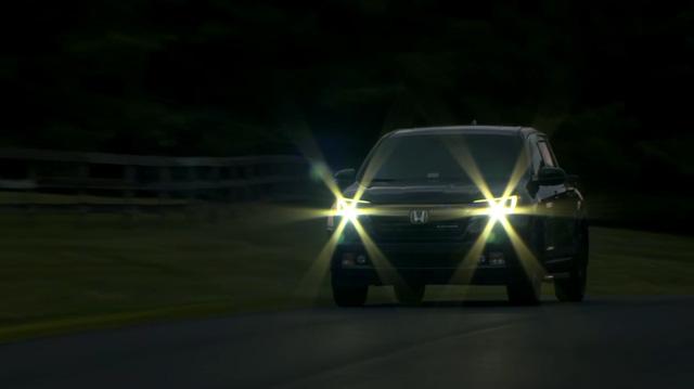 Hệ thống đèn pha trên Honda Ridgeline 2017