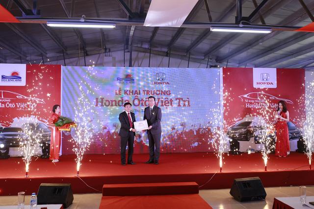 Honda Việt Nam mở đại lý ô tô Honda tiêu chuẩn 5s thứ 17 - Ảnh 1.