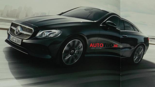 Mercedes E-Class Coupe 2018 phiên bản AMG Line