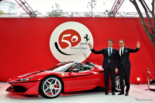Chiêm ngưỡng siêu xe Ferrari J50 trị giá 55,77 tỷ Đồng bằng xương, bằng thịt - Ảnh 5.