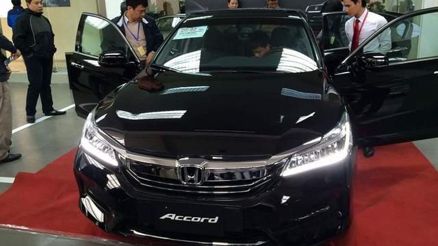 Sau Thái Lan, Honda Accord 2016 cập bến Việt Nam