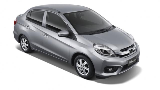 Honda Brio Amaze nâng cấp ra mắt tại Thái Lan, giá từ 324 triệu Đồng