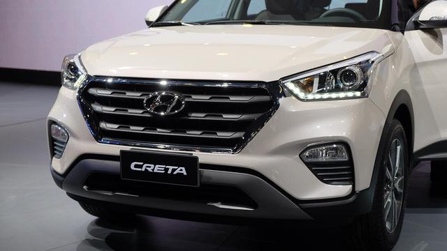 Đầu xe của Hyundai Creta 2017...