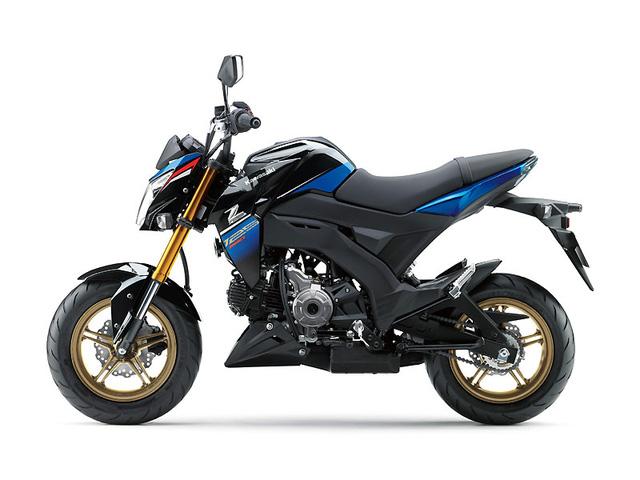 Kawasaki Z125 Pro 2017 trình làng, giá từ 66,5 triệu Đồng - Ảnh 5.