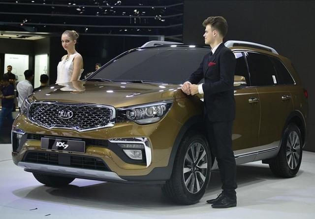 Kia KX7 ra mắt Trung Quốc