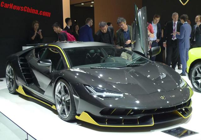 Lamborghini Centenario tại triển lãm Quảng Châu 2016