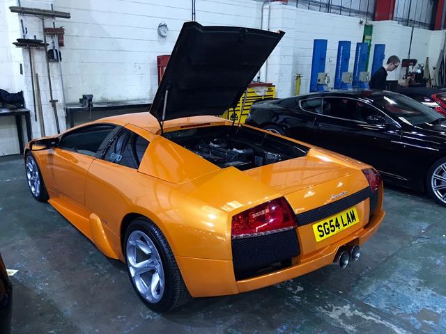 Đây là chiếc siêu xe khá nổi tiếng tại Anh.