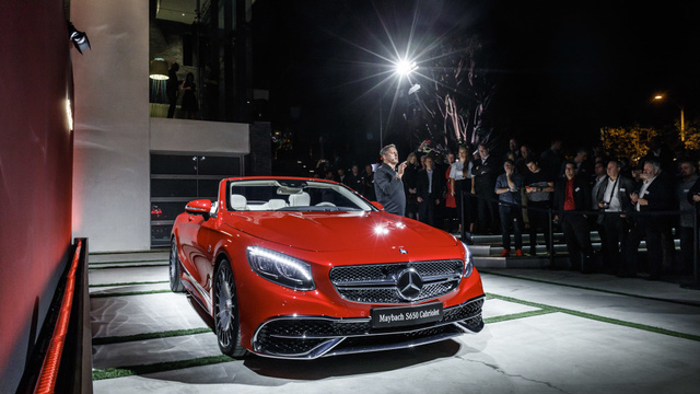 Mercedes-Maybach S650 Cabriolet trong triển lãm Los Angeles 2016