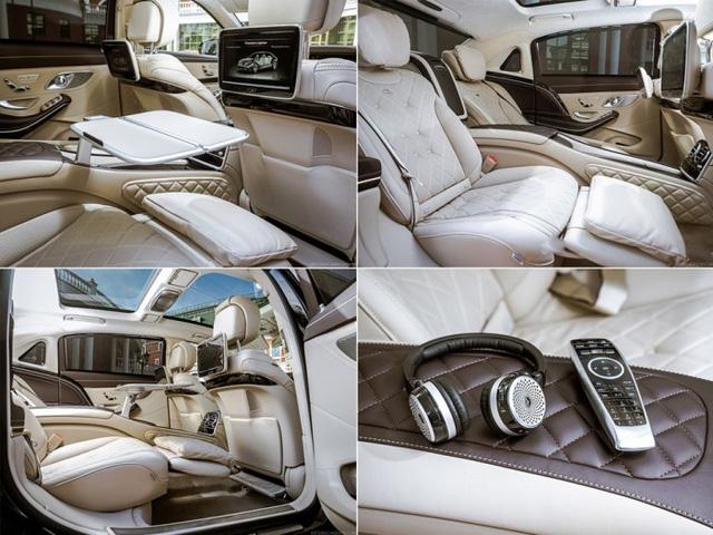 Nội thất bên trong Mercedes-Maybach S400 4Matic